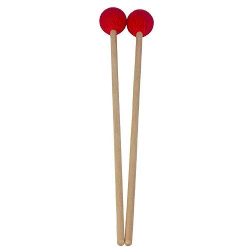 Festnight Middle Marimba Stick Mallet Xilofono Glockensplel Mallet con manico faggio Kit percussioni Accessori per strumenti musicali Mallets per