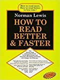 Norman Lewis How To Read Better & Faster (English)