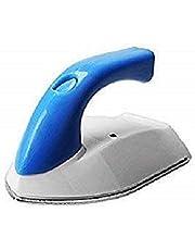 Koniry PVC Fiber Micro Mini Travel Compact Portable Electrical Clothes Ironing Press Iron (Multicolour)