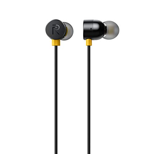 - 31XkjgpCCXL - Realme Earbuds with Mic (Black)