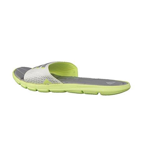adidas Adipure 360 Slide W, Chaussures de Sport Femme Multicolore - Blanco / Amarillo / Plata (Amdecl / Grpumg / Cermet)