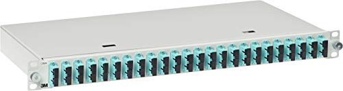 3M Telecommunications LWL-Patchpanel 482,6mm 19
