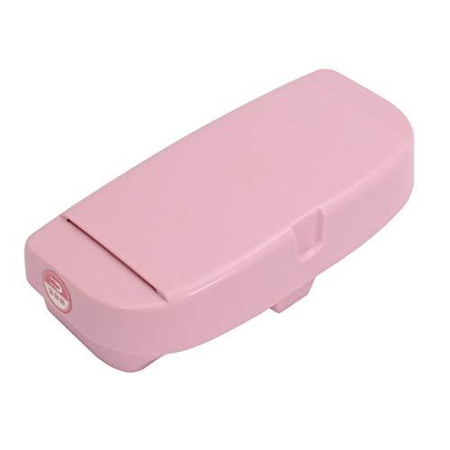 Delicacydex Auto Brille Aufbewahrungsbox Sonnenbrille Tragetasche Hartschalenkoffer Schutz Box Universal Schützen Box Halter Brillen Zubehör - Pink