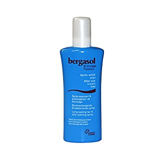 Berg Asol After Sun Tanning Are Body Lotion Tanning Spray and Soothing Spray 125 ml