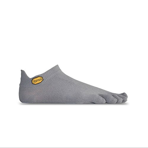 Vibram Fivefingers Athletic No Show Sock grigio