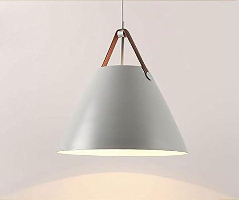 Modern Minimalist Pendant Light Design Gray Shadow Metal Cowhide Pendant Lamp Granary art Suspension Lighting for Living Room Restaurant Bedroom Café Ceiling Fixture