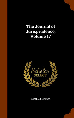 The Journal of Jurisprudence, Volume 17