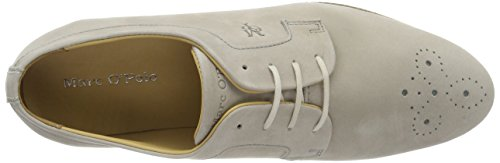 Marc O'Polo 70113853401200 Lace Up, Brogues Femme Gris sablonneux