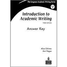 :Intro Acade Writi 3e Answe Key _3