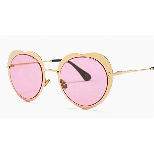 GBST Women's Sunglasses Cat Eye Eyewear Female Retro Sunglasses Ladies Eyeglasses,Gold pink