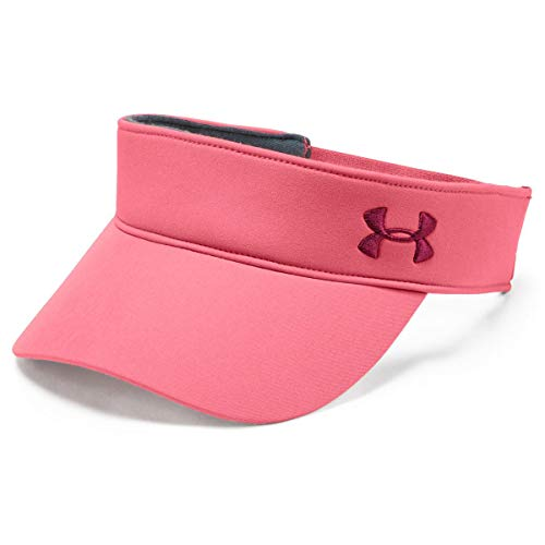 Under Armour Under Armour Damen UA Links Visor 2.0 Kappe Rosa, OSFA
