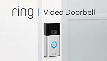 Nuovo Ring Video Doorbell | Videocitofono con video in HD a 1080p, rilevazione avanzata del movimento e facile...