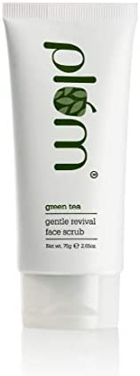 Plum Green Tea Gentle Revival Face Scrub | Blackhead Removal | Green Tea Extracts | For Oily, Acne-Prone Skin