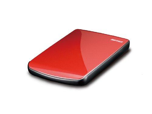Buffalo HD-PE500U2/RD Externe Festplatte 500 GB Rot - Externe Festplatten (500 GB, 5400 RPM, Rot) -