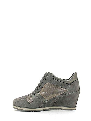 Geox D5454A0MA21 Sneakers Femme Dk Grey