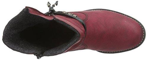 Rieker - 72795-35, Stivali Donna Rosso (rosso)