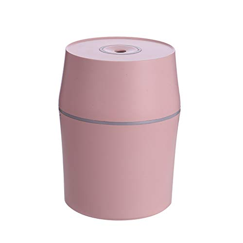 Olio Essenziale Diffusore, aromaterapia Ultrasonico Nebbia Fresca Umidificatore, 7 Colori Luci a LED Mutevole e senz'acqua Auto spegnimento per Casa Camera da Letto Terme Bambino,Pink