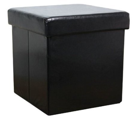 large-faux-leather-ottoman-folding-storage-pouffe-toy-box-foot-stool-seat-single-in-black