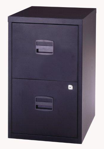 bisley-steel-pfa2-filing-cabinet-2-drawer-a4-h672xw413xd400mm-black-with-black-handles