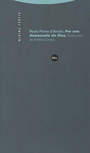 Por una democracia sin Dios (Minima Trotta)
