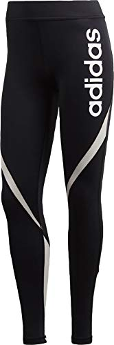 Adidas Mesh Leggings (adidas Damen Linear Tights, Black, XL)