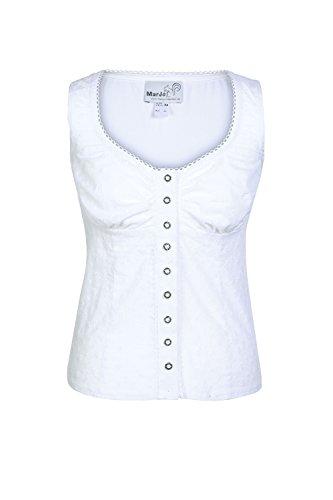Marjo Damen Trachtenshirt Thahiti, weiß D000307 34