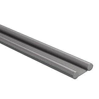 Wolfpack 5190450 Burlete de espuma bajopuerta (95 cm) color gris