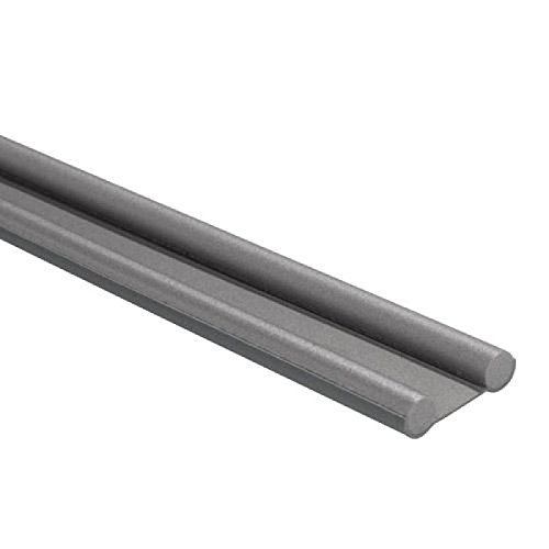 Wolfpack 5190450 Burlete de espuma bajopuerta 95 cm color gris