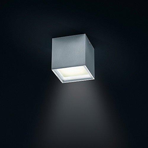 Helestra LED Downlight Siri LED Aluminium Matt IP30 | LEDs fest verbaut 15W 1350lm warmweiß | 15/1558.26