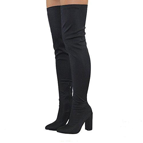 essex-glam-stivale-donna-nero-lycra-sopra-al-ginocchio-altezza-coscia-tondo-tacco-a-blocco-elasticiz