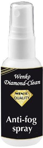 WENKO 8035007500 Diamond Clean Anti Beschlag Set - Langzeitschutz, 2er Set, Fassungsvermögen 0.05 L, Baumwolle, Weiß