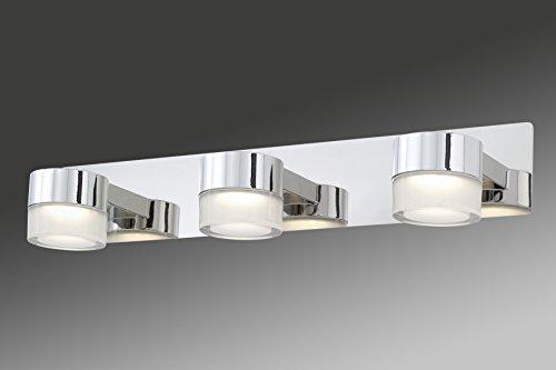 Briloner Leuchten Badezimmerlampe, Spiegelleuchte, LED Badlampe ...   {Badlampen wand 81}