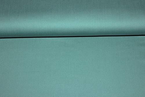 """Stretch-Baumwollsatin\""""Jessi Sun\"""" gedecktes mint (10 cm)"""