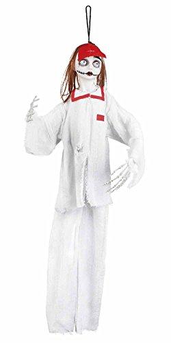 ion Horror Krankenschwester, 90 cm (Gruselige Psycho Clown Kostüm)