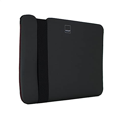 Acme Made Skinny Sleeve für 33 cm (13 Zoll) Apple MacBook Air/Pro Retina matt schwarz