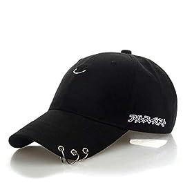 Cappellini con Visiera da Baseball Hip-Hop Unisex, DoraMe appelli Estivi Ricamati Cappello Maglia per Uomini Donne…
