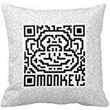 qr-code-the-monkey-pillow-case