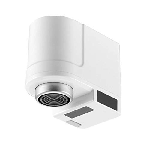 kioski Dispositivo de Ahorro de Agua Sensor automático de inducción de Infrarrojos Grifo Dispositivo de Ahorro de Agua Grifo del Fregadero Protección contra desbordamiento