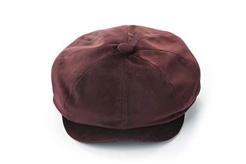 Kostüm N Katze Den Hut - kyprx Kostüm Hut weibliche Herbst und Winter Baseball Cap Cute Cap Tiermuster Mode Hut weibliche Weinrot