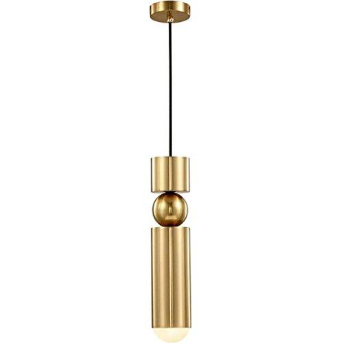 Wasser-header (Pendelleuchten Restaurant Pendelleuchte/Moderne 5W Metall Kronleuchter Retro Bar Single Header Kronleuchter Nachttischlampe Schlafzimmer (Farbe : Warm ligh))