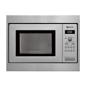 Neff H53W50N3GB 800W 17L Built-in Standard Microwave For A 50cm Wide Cabinet Stainless Steel