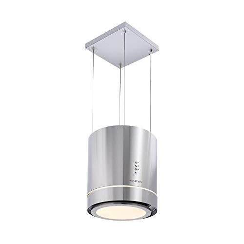 Klarstein Tron Ambience campana extractora - Extractor de humos aislado, Ø 38cm,...