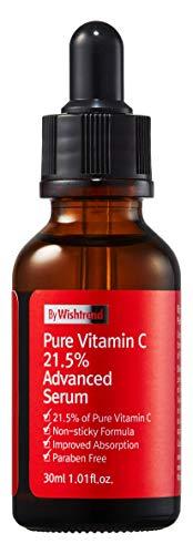 van Wishtrend, pure vitamine C21.5, geavanceerd serum, 30ml, je huid helderder maken, bleken, huidtintverbetering, met puur ascorbinezuur door -