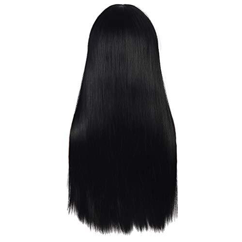 Sexy Farbverlauf blonde Partei Perücken langes lockiges Haar Mischfarben synthetische Perücke (Lange Männer Halloween-kostüm Haare Für)