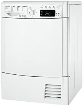 Indesit IDPE G45 A1 ECO (EU) A+ Freestanding 8kg Front-load Color blanco - Secadora (Independiente, Carga frontal, Condensación, A+, Color blanco, C)