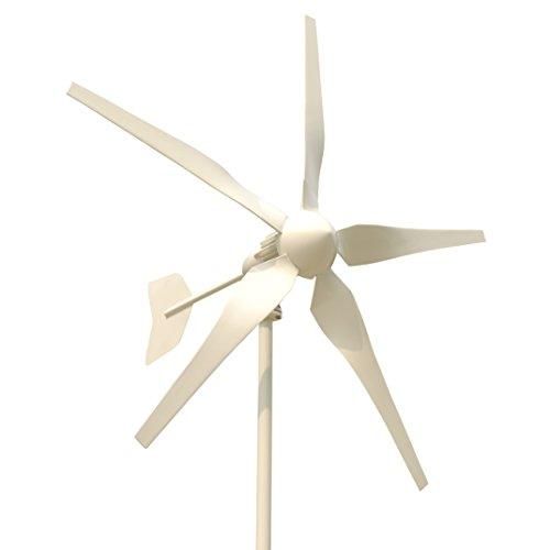 Tumo-Int 1000 Watts 5 Schaufel Windkraftanlage mit MPPT Laderegler (48V)