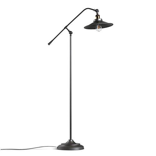 QQB lámpara de Piso Lámpara de pie Vintage, 4W Industrial ...