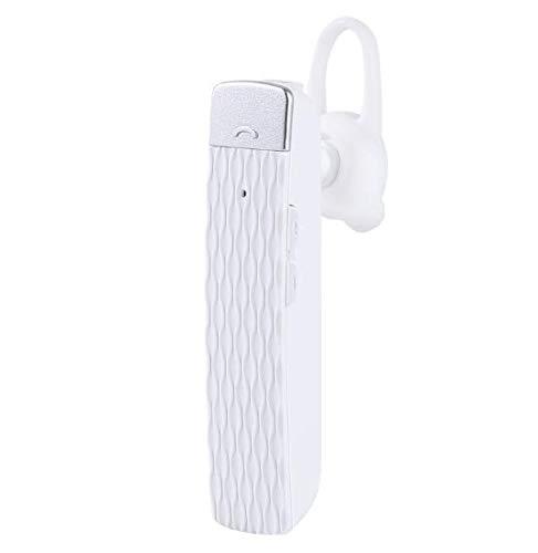Kabinga YM 26 Bluetooth Mini Cuffie Wireless Intelligenti Artefacto simultaneo istantaneo per traduttori commerciali, T2 Bianco, Unisex -Adult, M