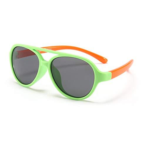 LCLrute Sonnenbrillen,Kleinkind-Baby-Kind-Jungen-Mädchen-TPE-E Anti-UV Flexible Stretchy polarisierten Sonnenbrillen Verspiegelt UV-Schutz