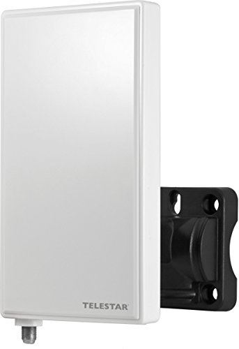 Telestar 5102225 Antenna 3 LTE Aktive Aussenantenne (DVB-T2 HD/DVB-T,UKW, DAB+, FullHD, Verstärkung: 30 dB) weiß
